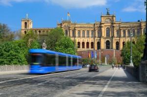 Strassenbahn Maximilianeum
